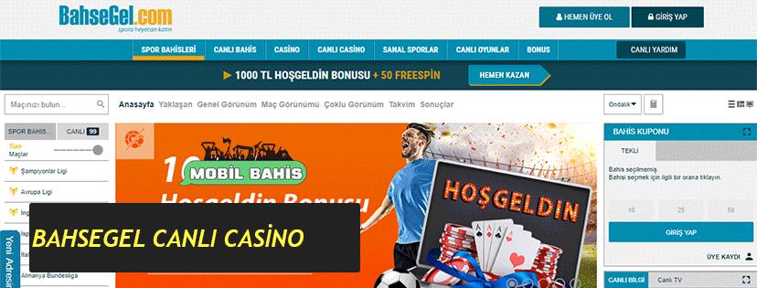 BahseGel Canlı Casino