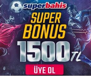 Superbahis 1500TL bonus